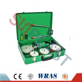 75-110 มิลลิเมตรซ็อกเก็ตฟิวชั่นเครื่องเชื่อมสำหรับท่อ PPR & amp; ท่อ HDPE