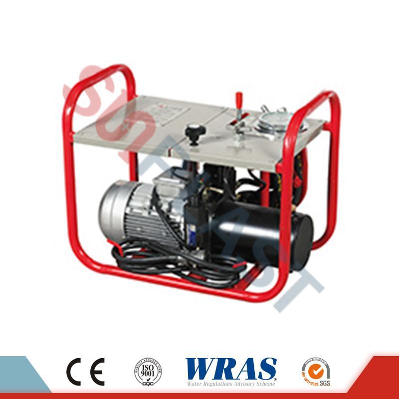 เครื่องเชื่อมฟิวชั่นไฮดรอลิกก้น 280-450 มม. สำหรับท่อ HDPE