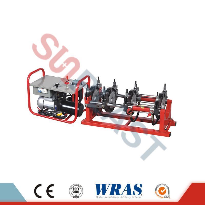 63-200mm ด้วยตนเอง / ไฮดรอลิก้นฟิวชั่นเครื่องเชื่อมสำหรับท่อ HDPE