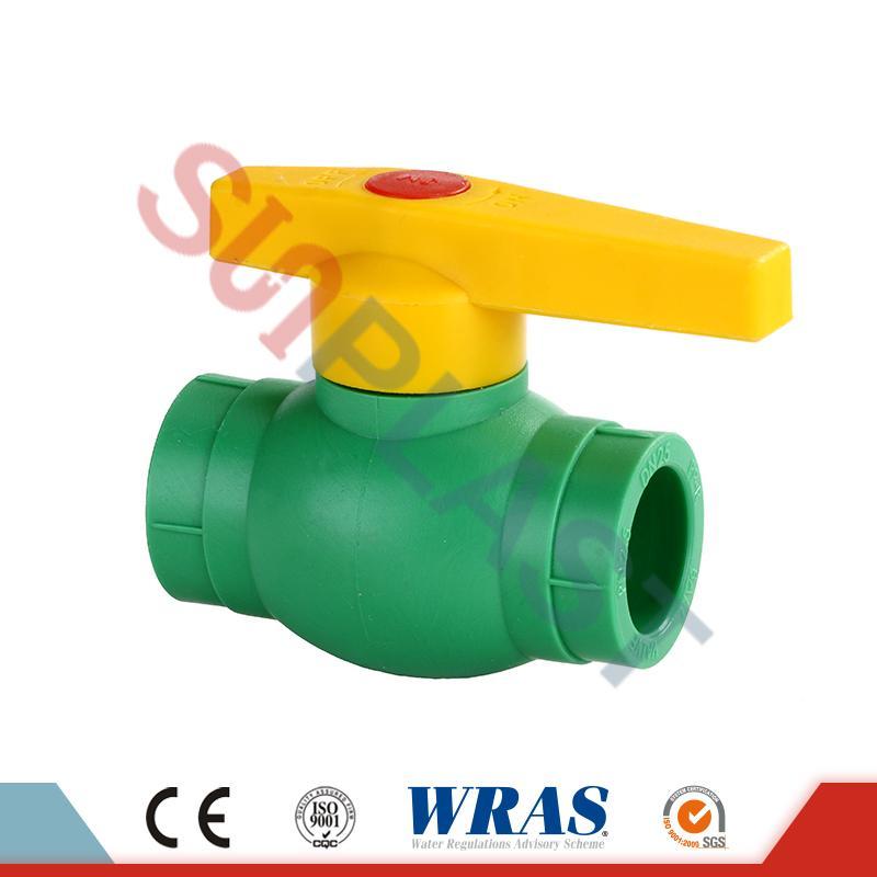 บอลวาล์ว DIN8077 PPR