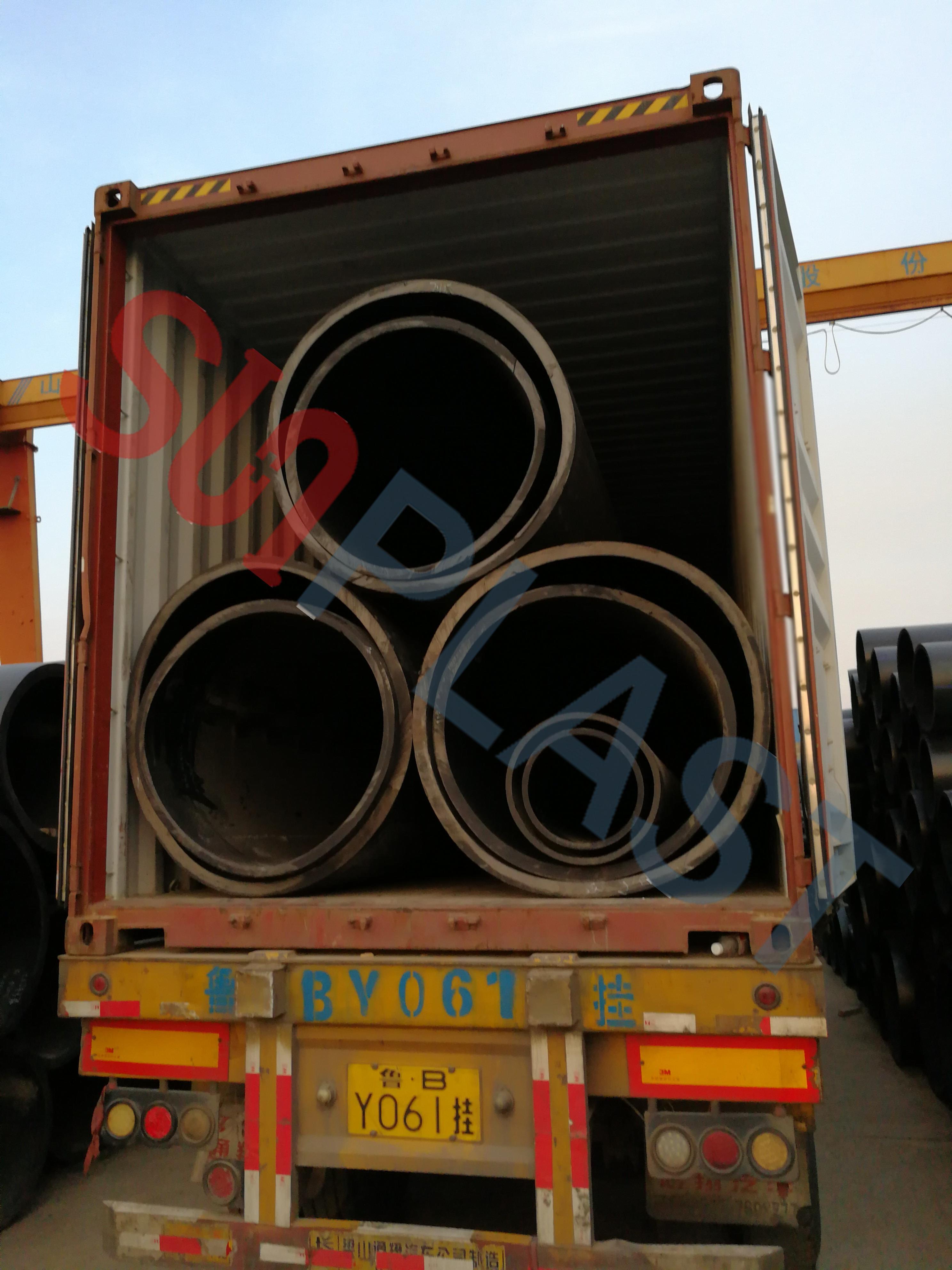 ท่อ HDPE ของ SUNPLAST DN1000 / DN1200mm